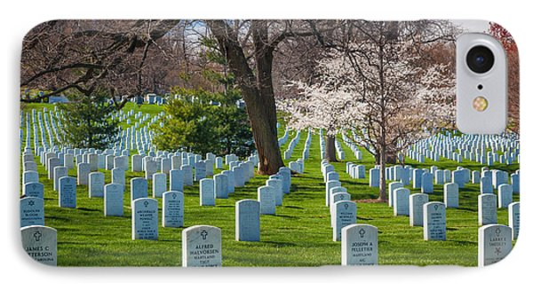 Arlington National Cemetery IPhone Case by Inge Johnsson