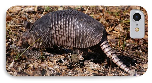 Armadillo In Autumn IPhone Case