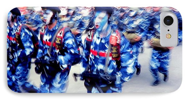 Armed Forces Of Colombia 7 IPhone Case by Daniel Gomez