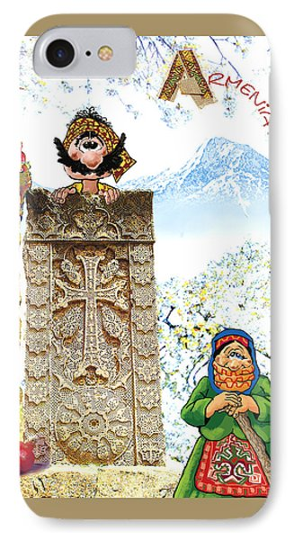 Armenia IPhone Case