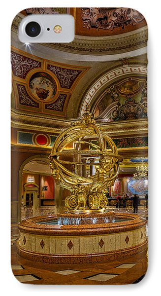 Armillary Sphere Of The Venetian IPhone Case by Susan Candelario