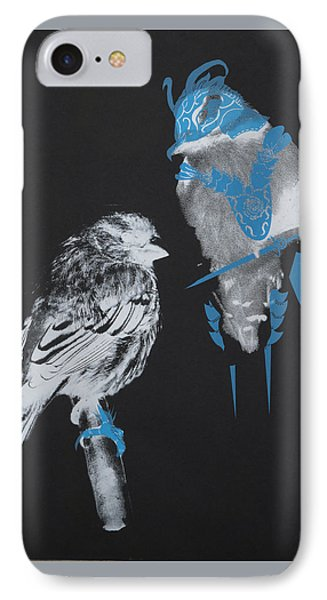 Armoured Birds IPhone Case by Jessica Jackson