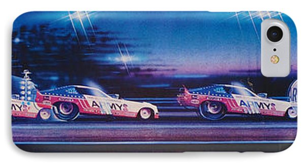 Army Car Sequence IPhone Case by Kenny Youngblood