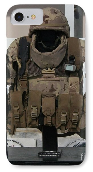 Army Gear IPhone Case by Michael Waters