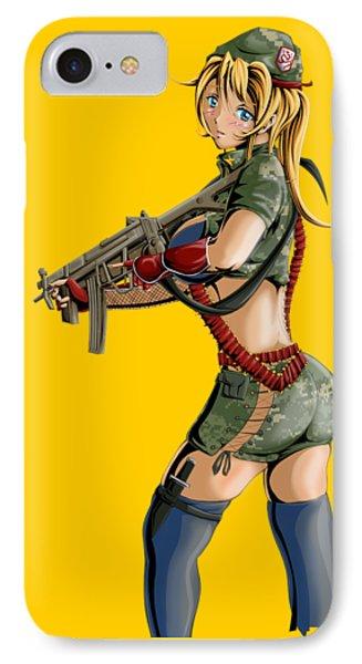Army Girl B IPhone Case