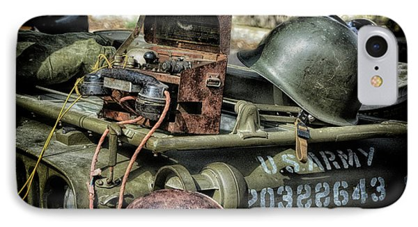 Army Memories IPhone Case by Stephan Grixti