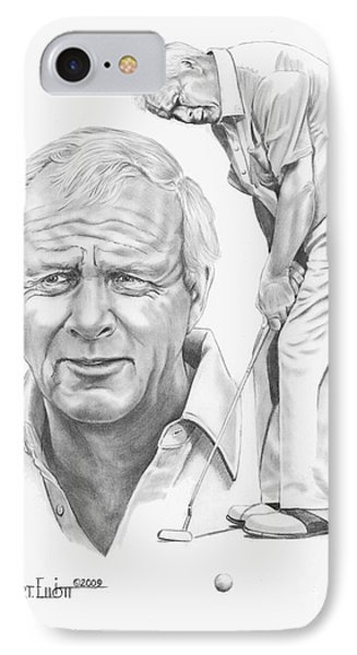 Arnold Palmer IPhone Case by Murphy Elliott