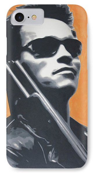Arnold Schwarzenegger 2013 IPhone Case by Luis Ludzska