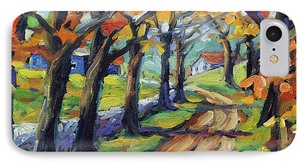 Around The Bend By Prankearts IPhone Case