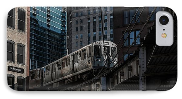 Around The Corner, Chicago IPhone Case by Reinier Snijders