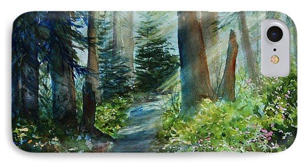 Around The Path Phone Case by Kerri Ligatich