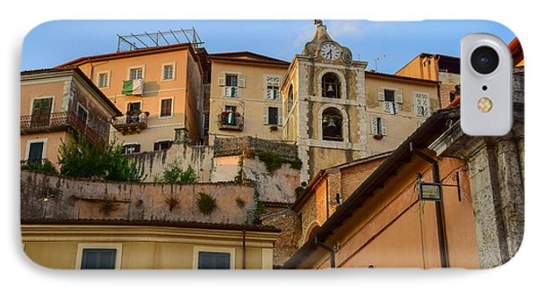 IPhone Case featuring the photograph Arpino Colors by Dany Lison