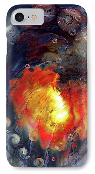 IPhone Case featuring the digital art Arrival by Linda Sannuti