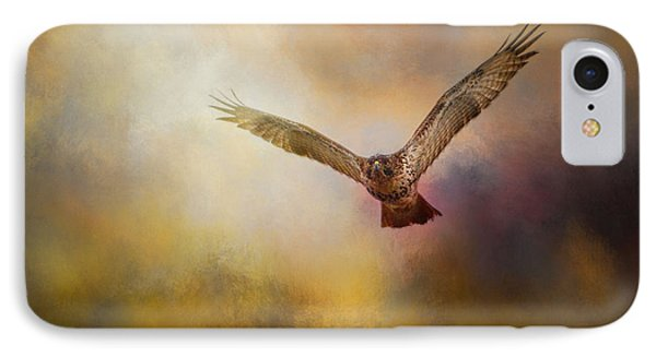 Arrival Of The Redtail IPhone Case by Jai Johnson
