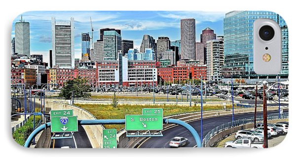 Arriving To Boston IPhone Case by Frozen in Time Fine Art Photography