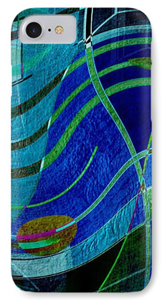 IPhone Case featuring the digital art Art Abstract With Culture by Sheila Mcdonald