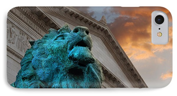 Art And Lions IPhone Case by Anthony Citro