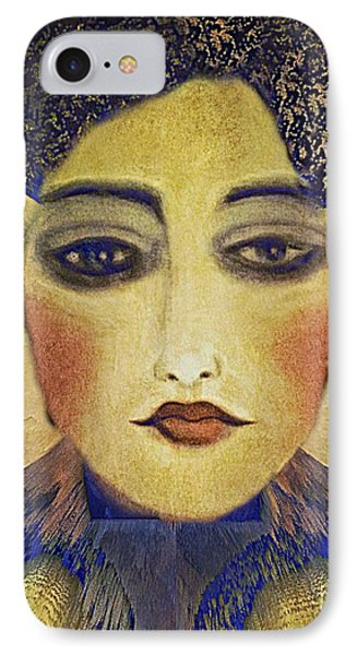 IPhone Case featuring the digital art Art Deco  Beauty by Alexis Rotella