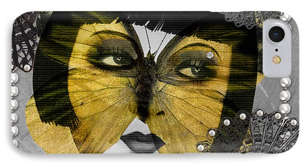 Art Deco Butterfly Woman IPhone Case by Mindy Sommers