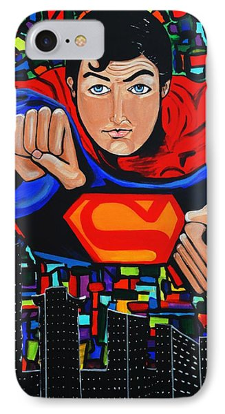 Art Deco  Superman IPhone Case