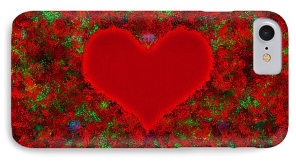 Art Of The Heart 2 IPhone Case by Anton Kalinichev