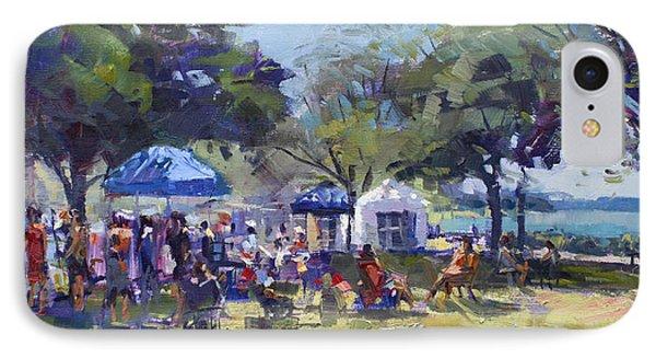 Art On The Riverwalk At Niawanda Park IPhone Case