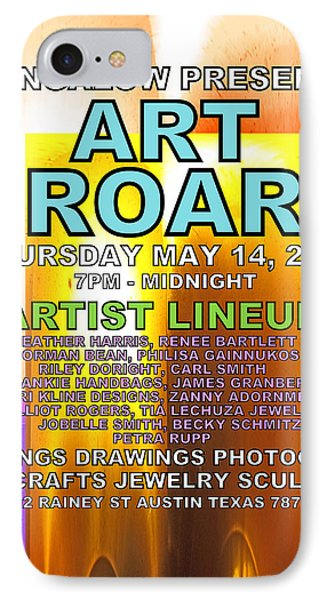Art Roar May 2015 IPhone Case by James Granberry