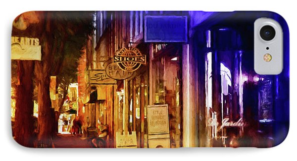 Art Row - Fredericksburg, Virginia IPhone Case by Glenn Gemmell