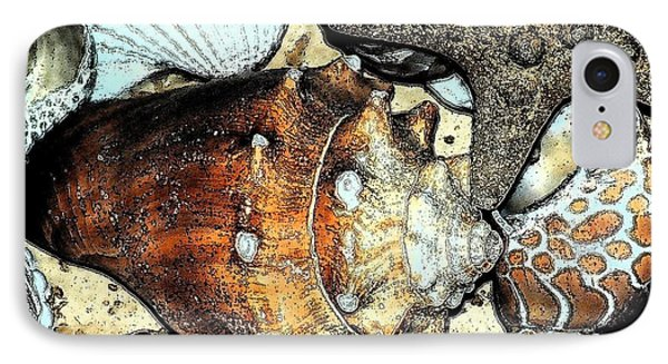 Art Shell 3 IPhone Case