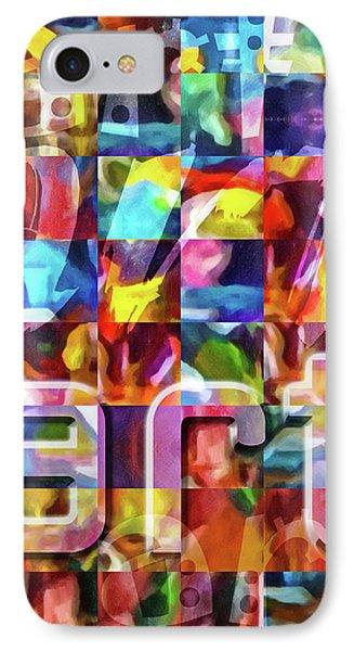 Art Type IPhone Case by Lutz Baar