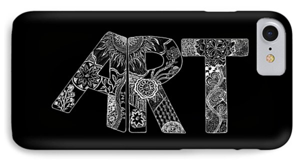 Art Within Art IPhone Case by Samantha Thome