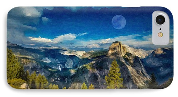 Art - Yosemite IPhone Case by Celestial Images