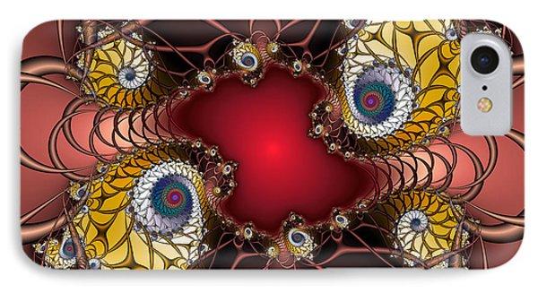 IPhone Case featuring the digital art Artdeco by Karin Kuhlmann