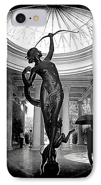 IPhone Case featuring the photograph Artemis At Huntington Library by Lori Seaman