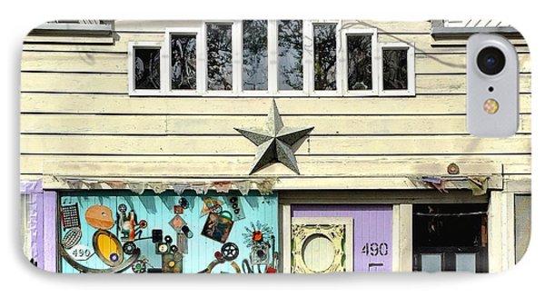 Artful Door IPhone Case by Julie Gebhardt