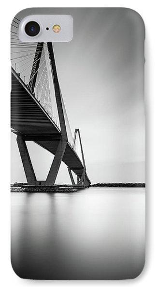 Arthur Ravenel Jr Bridge IIi IPhone Case by Ivo Kerssemakers