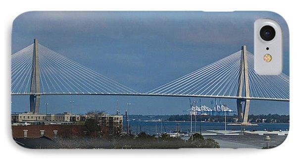 Arthur Ravenel Jr. Bridge Phone Case by Bill Barber