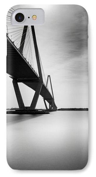 Arthur Ravenel Jr Bridge II IPhone Case by Ivo Kerssemakers