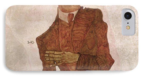 Arthur Roessler Phone Case by Egon Schiele