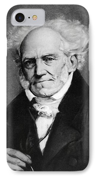 Arthur Schopenhauer Phone Case by Granger