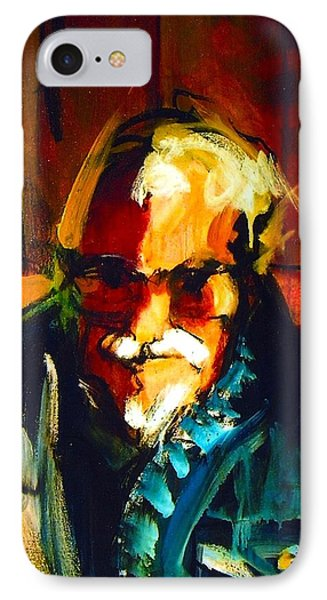 IPhone Case featuring the painting Artie by Les Leffingwell