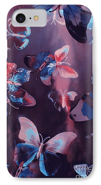 Fairy iPhone 7 Case - Artistic Colorful Butterfly Design by Jorgo Photography - Wall Art Gallery