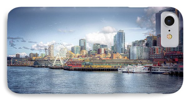 Artistic In Seattle IPhone Case by Spencer McDonald
