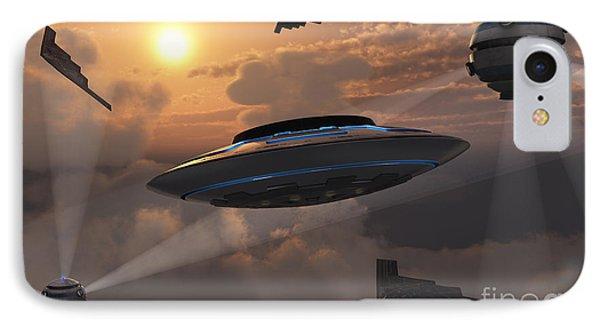 Artists Concept Of Alien Stealth Phone Case by Mark Stevenson