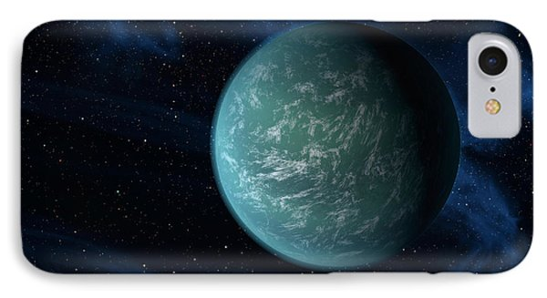 Artists Concept Of Kepler 22b, An IPhone Case by Stocktrek Images