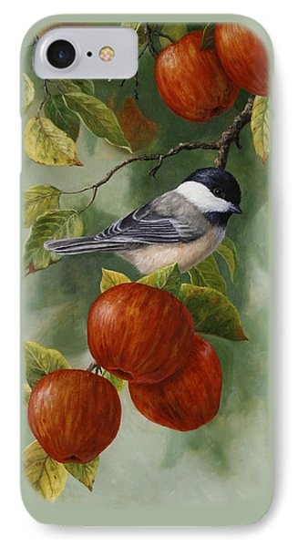 Apple Chickadee Greeting Card 2 IPhone 7 Case