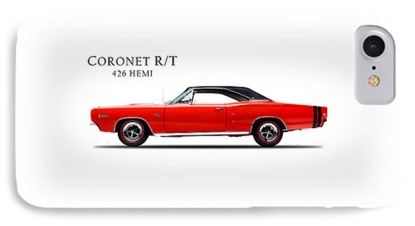 Dodge Coronet R T IPhone Case by Mark Rogan