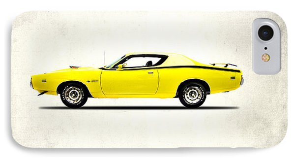 Dodge Charger Super Bee IPhone Case by Mark Rogan