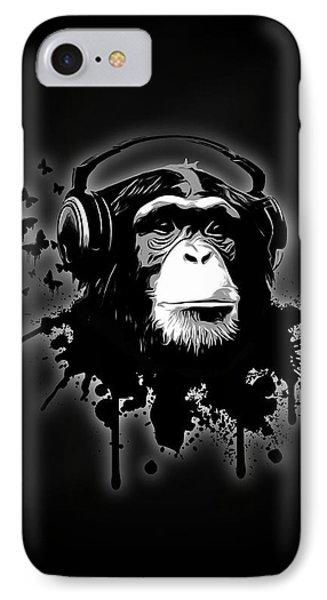 Monkey Business - Black IPhone 7 Case