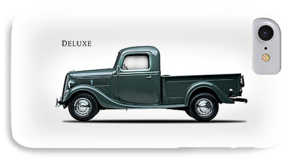 Ford Deluxe Pickup 1937 IPhone 7 Case by Mark Rogan